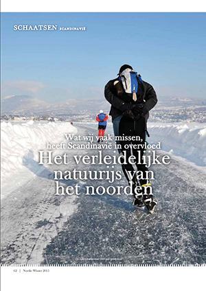 Nordic natuurijs Noord-Europa