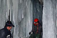 Tussen ijs en rotsen