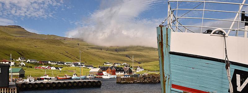 Plaatsjes Faeröer