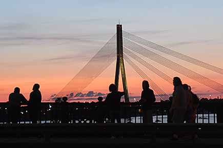 Riga, start- en eindpunt