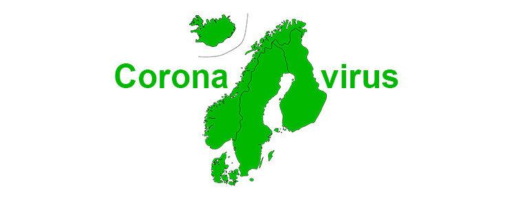 Ook in Scandinavië: snelle verspreiding Coronavirus